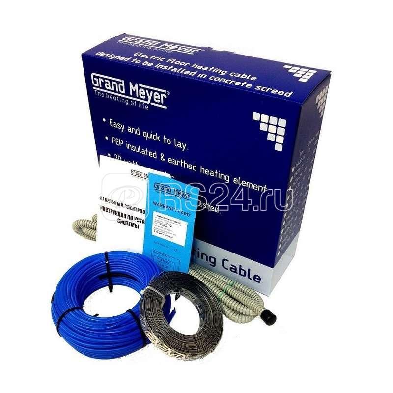 Комплект Теплый пол (кабель) двужил. 20Вт/м 200Вт 10м (0.9-1.4кв.м) Grand Meyer THC20-10 купить в интернет-магазине RS24