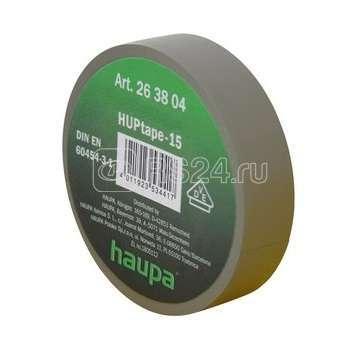 Изолента ПВХ 25мм (рул.20м) черн. HAUPA 263862
