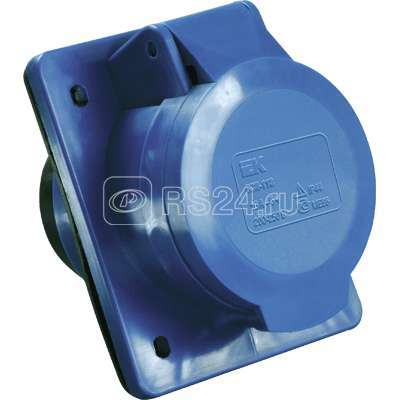 Розетка СП 16А 220В 2P+E ССИ-413 IP44 ИЭК PSR41-016-3 купить в интернет-магазине RS24