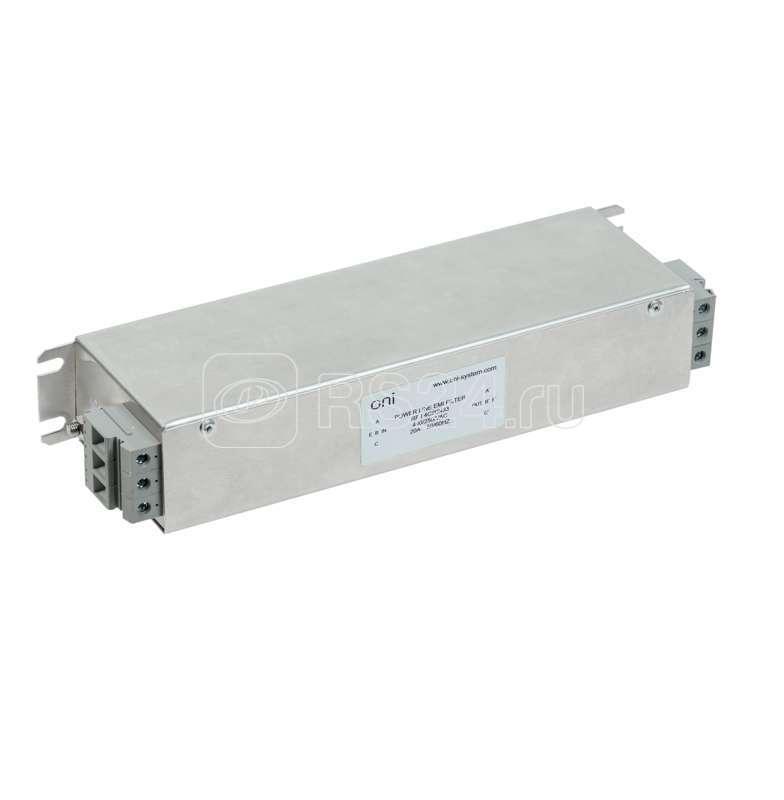 Фильтр ЭМС выходной RFO 100А 380В 3Ф ONI RFO-4C100N44 купить в интернет-магазине RS24