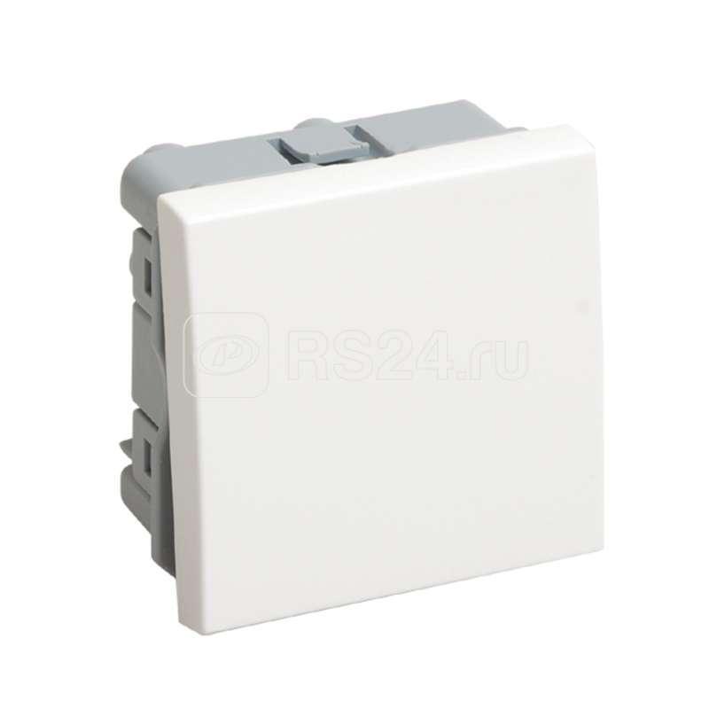 Выключатель 1-кл. 2мод. ОП 10А IP20 ВКО-21-00-П бел. ИЭК CKK-40D-VO2-K01