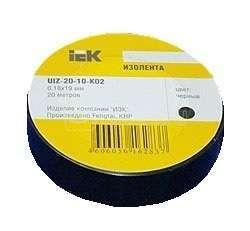 Изолента ПВХ 0.18х19мм черн. (рул.20м) ИЭК UIZ-20-10-K02 купить в интернет-магазине RS24