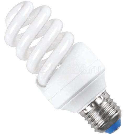 Лампа люминесцентная компакт. КЭЛP-FS 20Вт E27 спиральная 2700К (уп.3шт) ИЭК LLEP25-27-020-2700-T3-S3 купить в интернет-магазине RS24