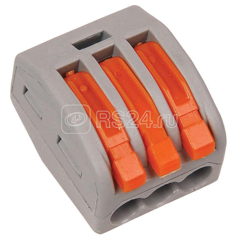 Клемма строительно-монтаж. СМК 222-413 ИЭК UKZ-001-413 купить в интернет-магазине RS24