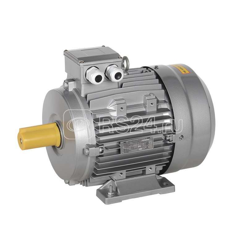 Электродвигатель АИС DRIVE 3ф. 200LB6 660В 22кВт 1000об/мин 1081 ИЭК AIS200-B6-022-0-1010 купить в интернет-магазине RS24