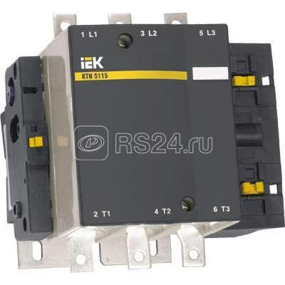 Контактор КТИ-5330 330А 230В/АС3 ИЭК KKT50-330-230-10 купить в интернет-магазине RS24
