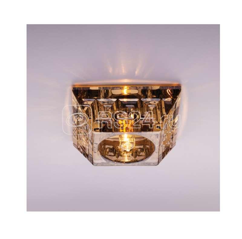 Светильник Olympia 220 1 73 декор. огран. стекло G9 ИТАЛМАК IT8438 купить в интернет-магазине RS24