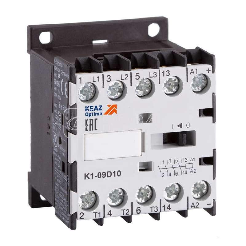 Миниконтактор OptiStart K1 12D01=24DC КЭАЗ 117351 купить в интернет-магазине RS24