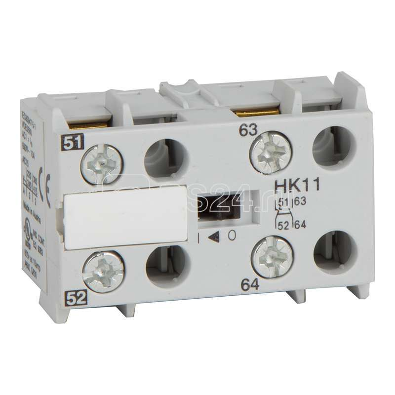 Блок контактов вспомогательный OptiStart HK11 КЭАЗ 117737