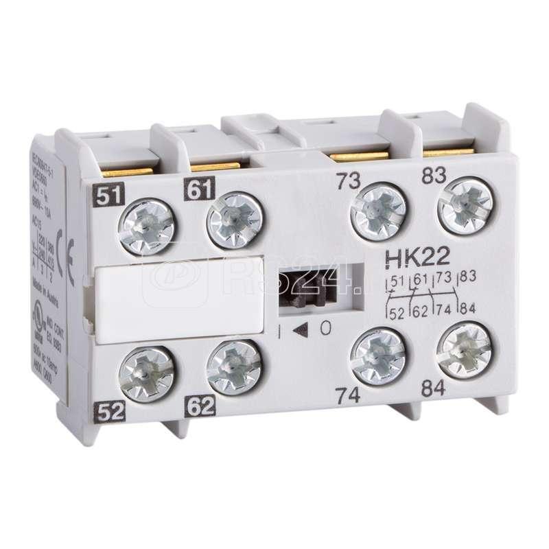 Блок контактов вспомогательный OptiStart HK22 КЭАЗ 117741