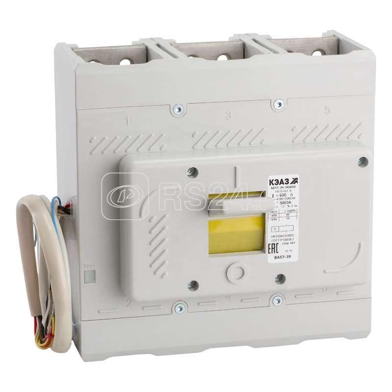 Выключатель автоматический ВА57-39-641810 500А 5000 440DC НР230AC/220DC УХЛ3 КЭАЗ 242879 купить в интернет-магазине RS24
