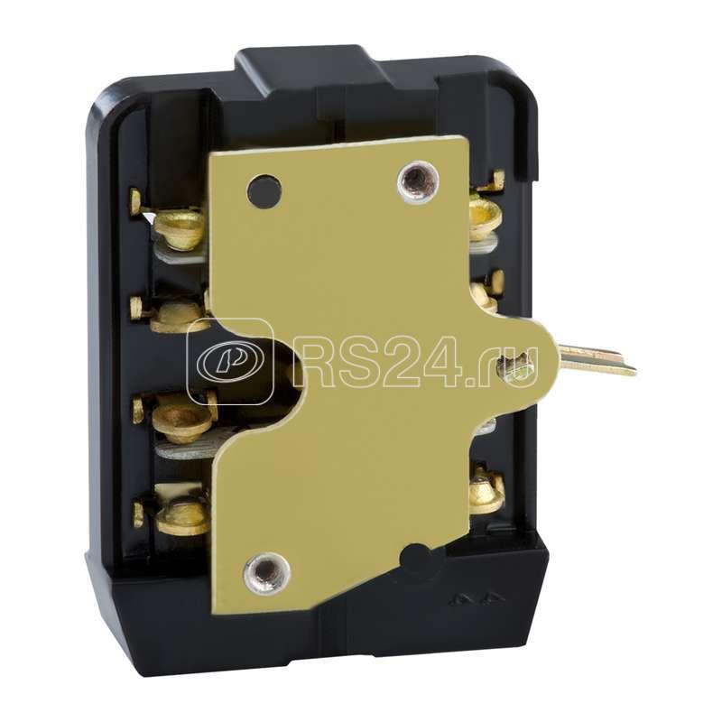 Блок-контакт БК 2 пол. для АП50Б УЗ КЭАЗ 110352 купить в интернет-магазине RS24