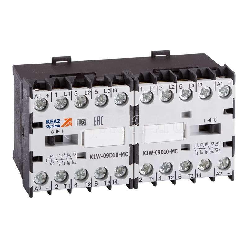 Миниконтактор реверсивный OptiStart K1W 09D10 MC 230AC VS КЭАЗ 117120 купить в интернет-магазине RS24