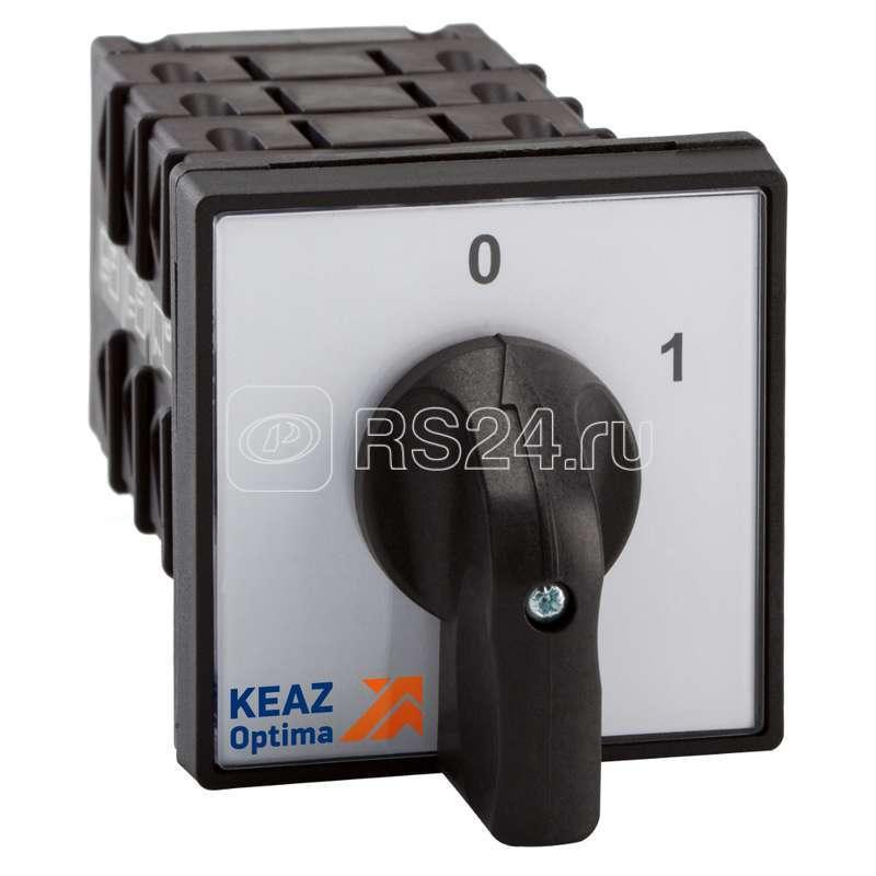 Переключатель кулачковый OptiSwitch 4G25 75 U R114 КЭАЗ 147544 купить в интернет-магазине RS24