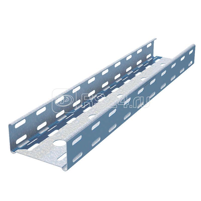 Лоток листовой перфорированный 400х50 L3000 сталь 1.2мм СТАНДАРТ LPE50х400х1.2 C оцинк. КМ LA0033 купить в интернет-магазине RS24
