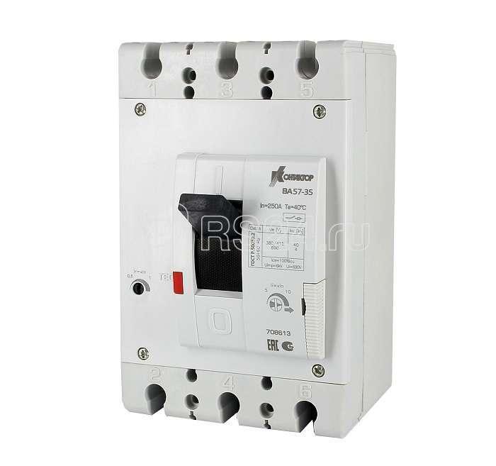 Выключатель авт. 3п 31.5А ВА57-35-340010 Контактор 708604 купить в интернет-магазине RS24