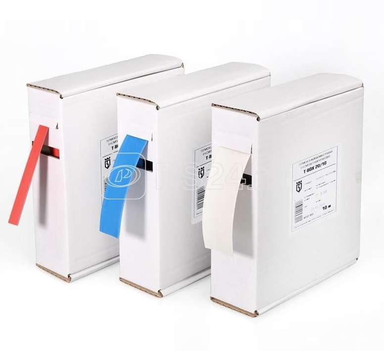 Трубка термоусадочная в евро боксе T-BOX 10/5 красн. (уп.10м) КВТ 65615 купить в интернет-магазине RS24