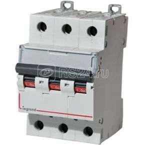 Выключатель автоматический модульный 3п C 20А 6000/10кА DX3 Leg 407860 купить в интернет-магазине RS24