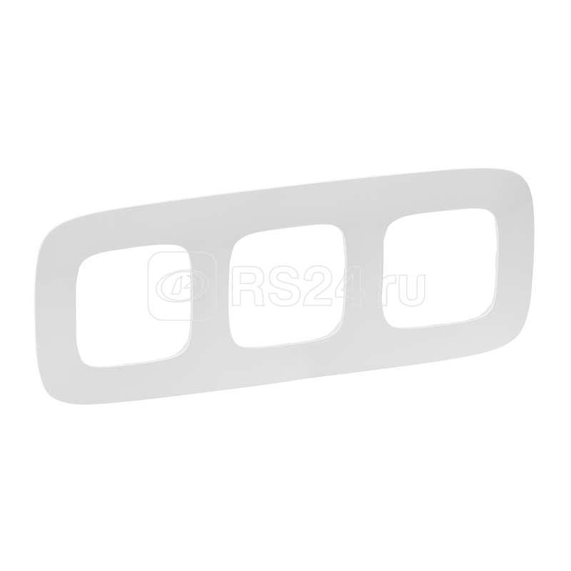 Рамка 3-м Valena Allure универсальная бел. Leg 754303