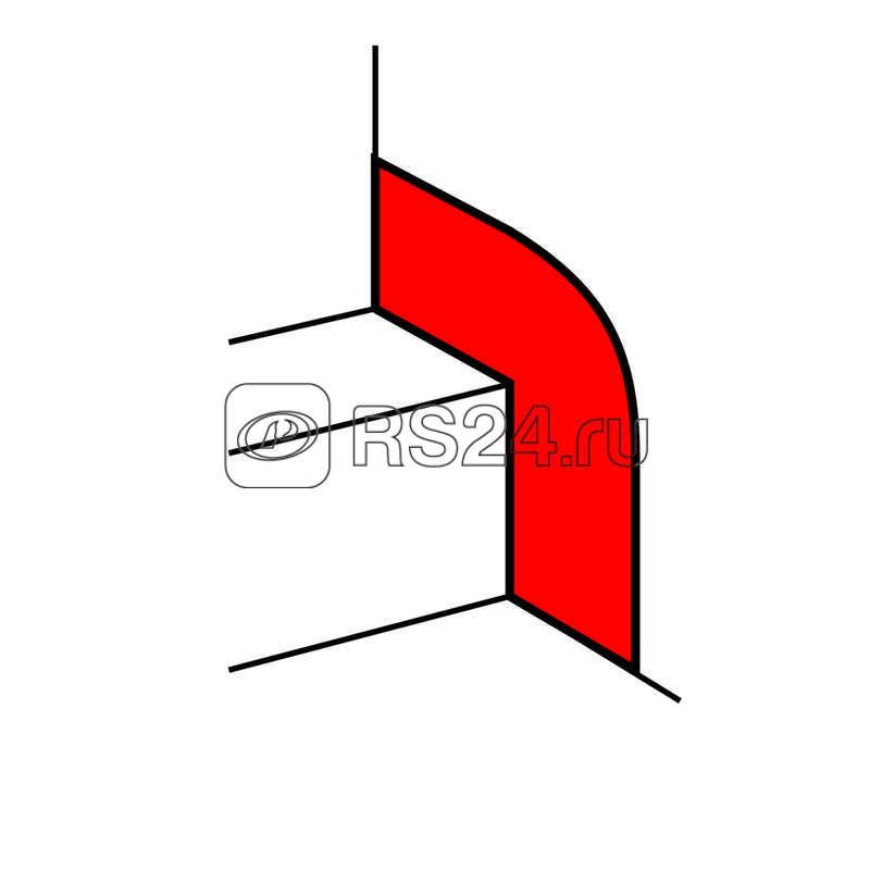 Накладка на стык со стеной для кабель-канала шириной 80-150мм Leg 010698 купить в интернет-магазине RS24