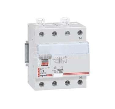 Выключатель дифференциального тока (УЗО) 4п 25А 30мА тип AC DX Leg 008993 купить в интернет-магазине RS24