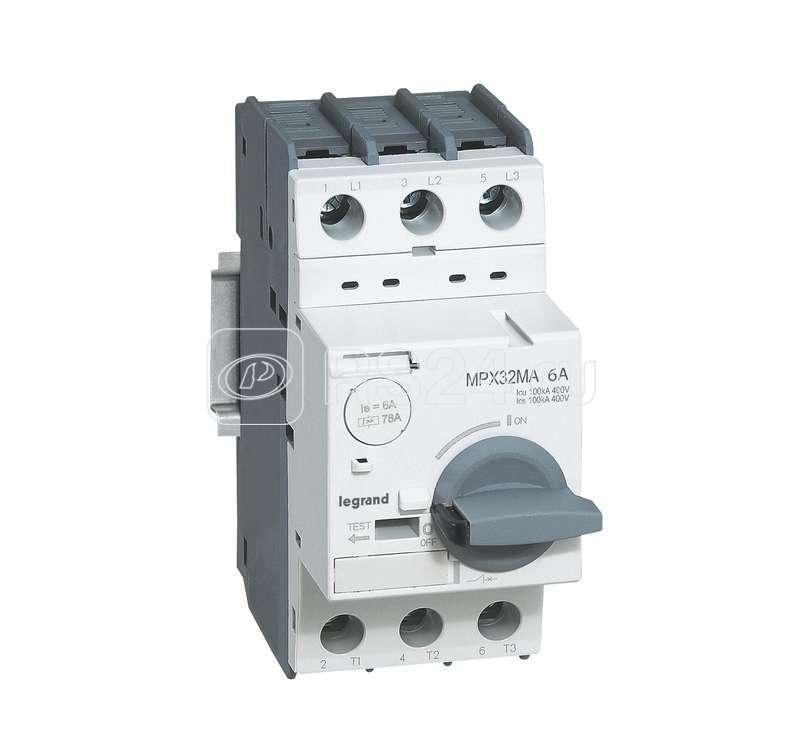 Выключатель авт. защиты двиг. MPX3 T32MA 0.16A100kA Leg 417340 купить в интернет-магазине RS24