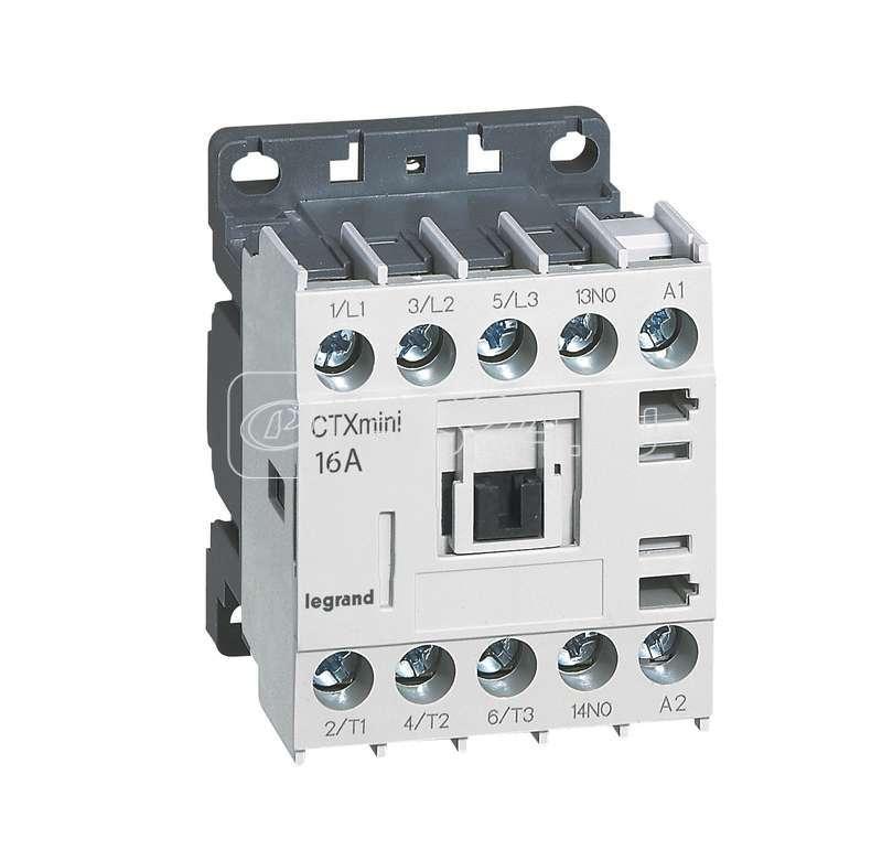 Контактор CTX-3 3P 16А 1НО =24В мини Leg 417061 купить в интернет-магазине RS24