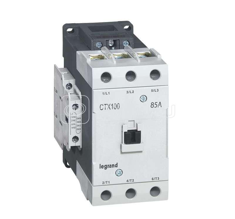 Контактор CTX-3 3P 85А 2НО 2HЗ ~24В Leg 416200 купить в интернет-магазине RS24