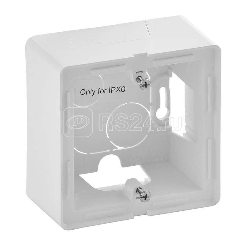 Коробка 1 пост Valena Life для накладного монтажа бел. Leg 754191 купить в интернет-магазине RS24