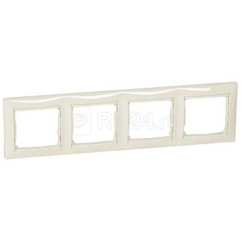 Рамка 4-м Valena горизонт. сл. кость инд. упак. (DIY-упак) Leg 695634