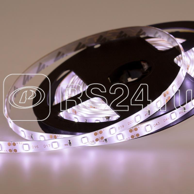Лента светодиодная SMD3528 бел. 4.8Вт/м 60LED/м 12В IP65 (уп.5м) NEON-NIGHT 141-355 купить в интернет-магазине RS24
