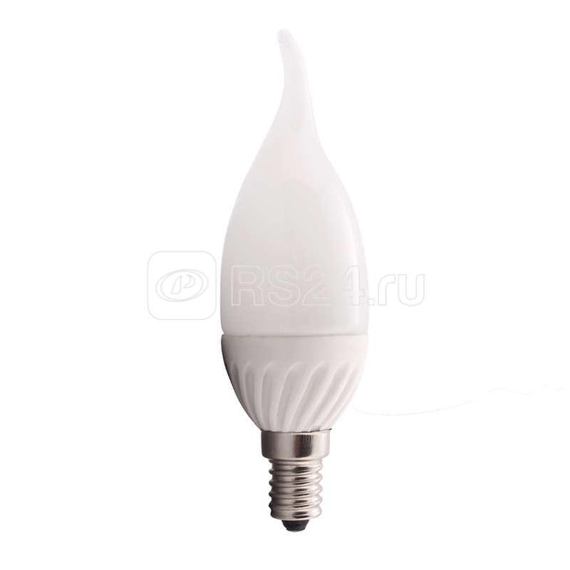 Лампа светодиодная HLB 05-37-C-02 5Вт свеча 4000К белый E14 380лм 165-265В Новый Свет 500210 купить в интернет-магазине RS24