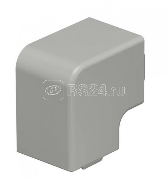 Крышка плоского угла кабель-канала 40х40мм ПВХ WDK HF40040GR сер. OBO 6158668 купить в интернет-магазине RS24
