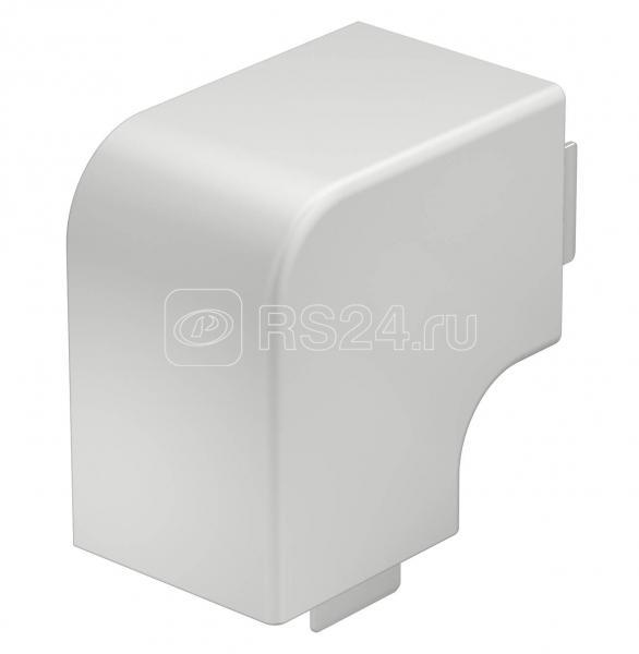 Крышка плоского угла кабель-канала 60х60мм ПВХ WDK HF60060RW бел. OBO 6192912 купить в интернет-магазине RS24
