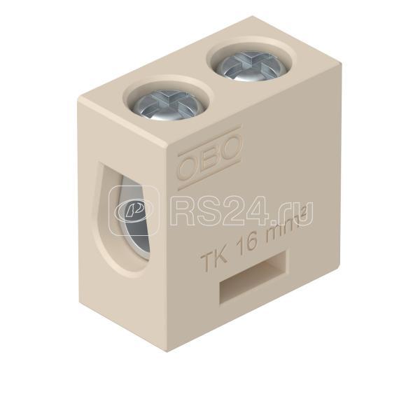 Клеммник керамический 16кв.мм TK 16 OBO 7205706 купить в интернет-магазине RS24