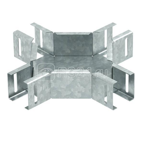 Ответвитель крестообразный горизонт. для лестн. лотка LTS K DD OBO 6074921 купить в интернет-магазине RS24