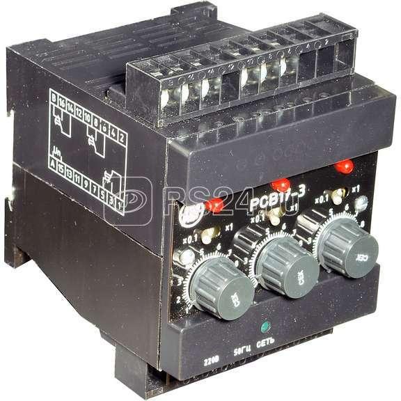 Реле времени РСВ-17-3 220В 50Гц (0.1-10мин.) пер. прис. ВНИИР A8120-76918860 купить в интернет-магазине RS24