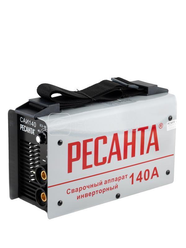 Инвертор сварочный САИ-140 140А d3.2мм 140-240В IP21 горячий старт Ресанта 65/5 купить в интернет-магазине RS24