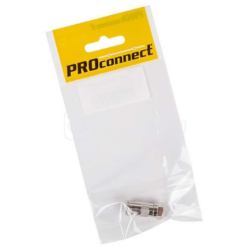 Переход штекер F - гнездо TV (инд. упак.) PROCONNECT 05-4362-4-7 купить в интернет-магазине RS24
