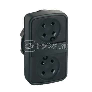 Головка для кнопки двойн. без вставок SchE ZB5AA79 купить в интернет-магазине RS24
