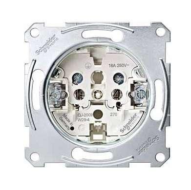Механизм розетки СП Merten без заземл. SchE MTN2001-0000 купить в интернет-магазине RS24