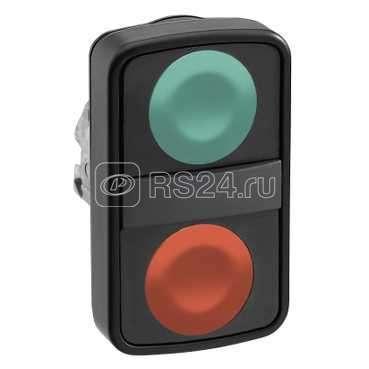 Головка кнопки двойная без маркир. черн. SchE ZB4BA73407 купить в интернет-магазине RS24