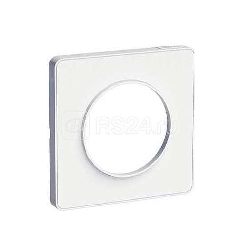 Рамка 1-м Odace бел. SchE S52P802