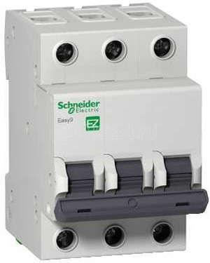 Выключатель автоматический модульный 3п C 25А 4.5кА EASY 9 SchE EZ9F34325 купить в интернет-магазине RS24
