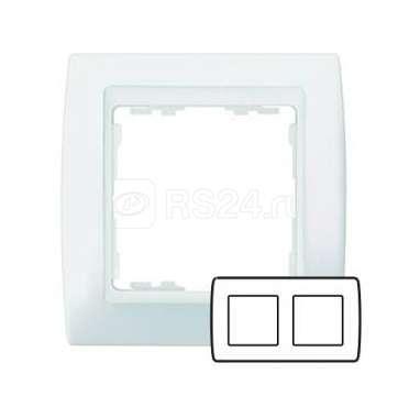 Рамка 2-м Simon82 бел./бел. Simon 82620-30