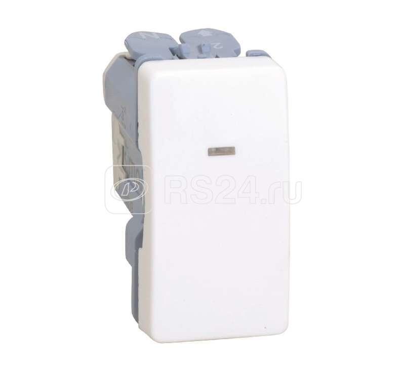 Механизм выключателя 1-кл. 2п СП Simon27 16А IP20 250В с контрольной подсветкой узкий сл. кость Simon 27134-61 купить в интернет-магазине RS24