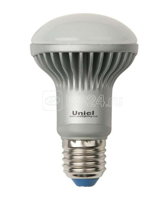 Лампа светодиодная LED-R63-8Вт/NW/E27/FR 8Вт 4500К белый E27 ALS01SL пласт. Uniel 07187 купить в интернет-магазине RS24