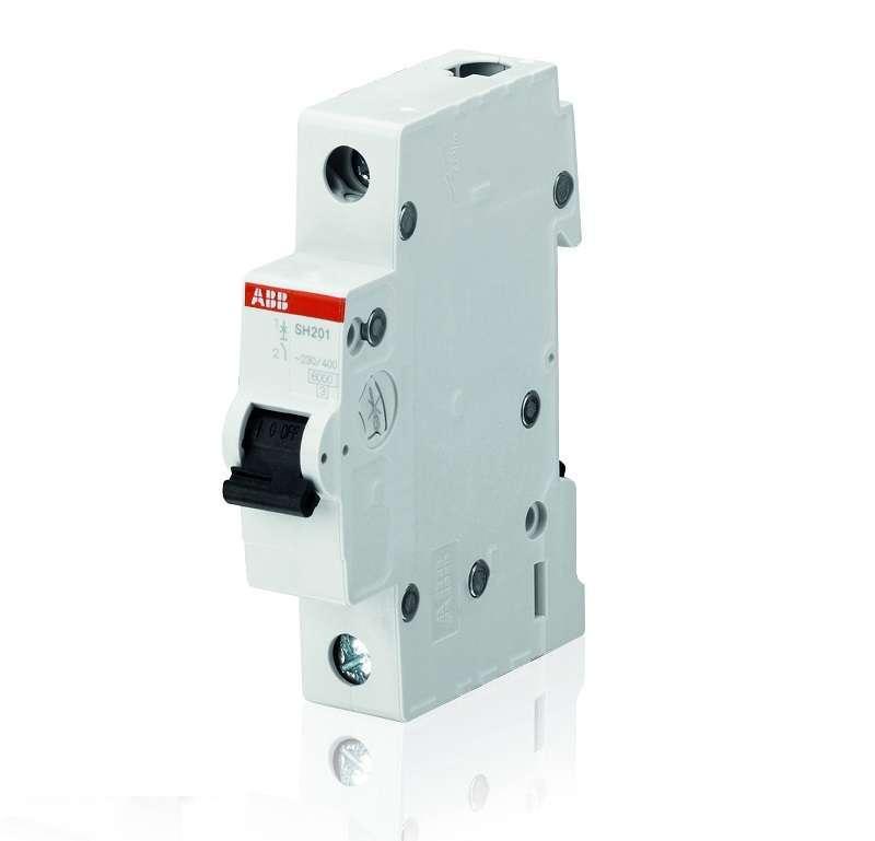 Выключатель автоматический модульный 1п C 20А 6кА SH201 C 20 ABB 2CDS211001R0204