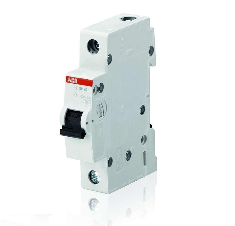 Выключатель автоматический модульный 1п C 40А 6кА SH201 C 40 ABB 2CDS211001R0404