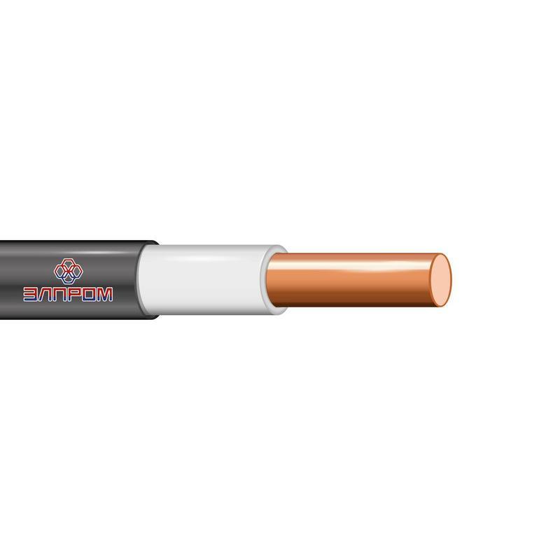 Кабель ВВГнг(А)-LS 1х6 Б ОК 0.66кВ (бухта) (м) ЭлПром НТ000002869